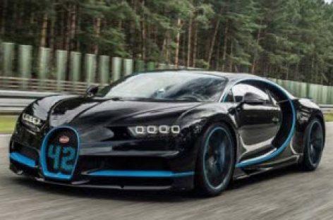 """""""Ông hoàng tốc độ"""" Bugatti Chiron xác lập kỉ lục thế giới mới về tốc độ"""
