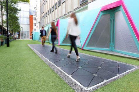 Pavegen ra mắt đoạn đường đi bộ thu năng lượng đầu tiên trên thế giới