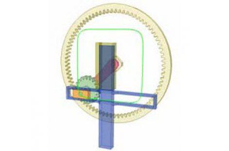 [Mô phỏng cơ cấu cơ khí] Quỹ tích trong ăn khớp epicyclic A4b