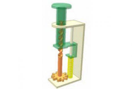 [Mô phỏng cơ cấu cơ khí] Bộ truyền vít đai ốc 1