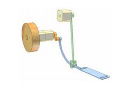[Mô phỏng cơ cấu cơ khí] 4 bar linkage for output rotation 1