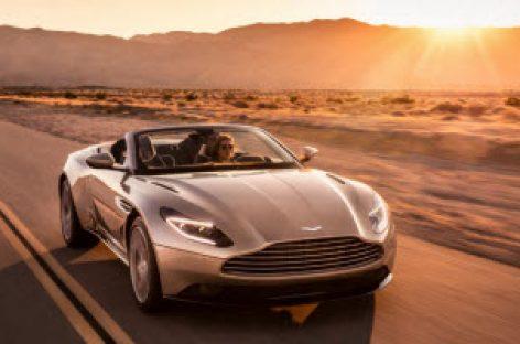 Aston Martin ra mắt xe thể thao mui trần DB11 Volante, động cơ V8 4.0 503 mã lực, giá từ 211.000 USD