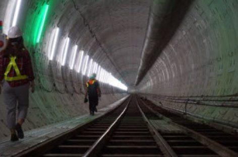 Bên trong hầm Metro do robot 'khủng' đào ở Sài Gòn