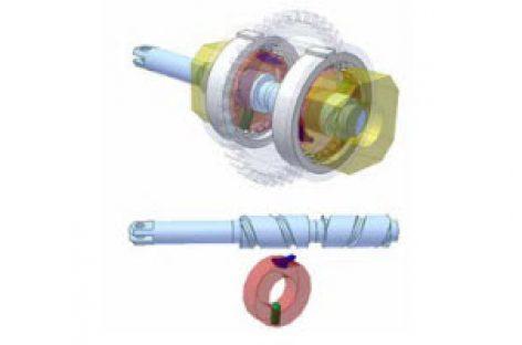 [Mô phỏng cơ cấu cơ khí] Biến chuyển động thẳng hai chiều thành một chiều 3