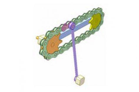 [Mô phỏng cơ cấu cơ khí] Bộ truyền xích 6A