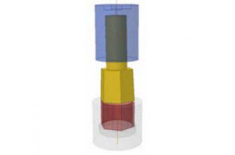[Mô phỏng cơ cấu cơ khí] Chuốt quay nghiêng 1