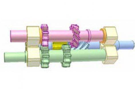 [Mô phỏng cơ cấu cơ khí] Cơ cấu biến chuyển động hai chiều thành một chiều 5