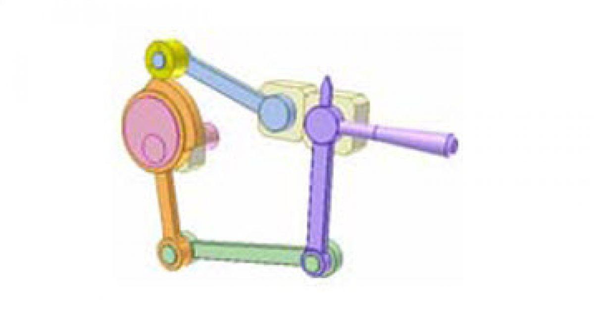 [Mô phỏng cơ cấu cơ khí] Cơ cấu cam chuyển động phẳng 1