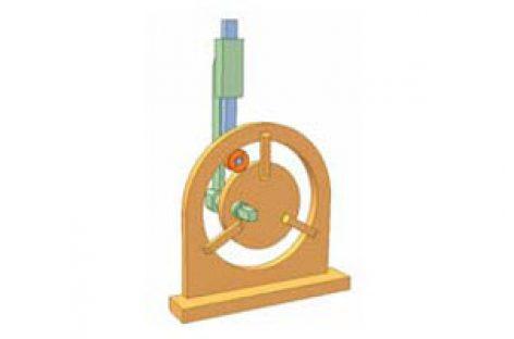 [Mô phỏng cơ cấu cơ khí] Cơ cấu cam cố định 2