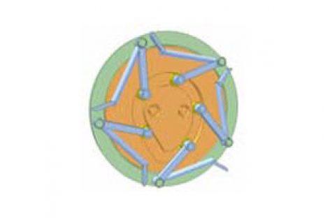 [Mô phỏng cơ cấu cơ khí] Cơ cấu cam cố định 3
