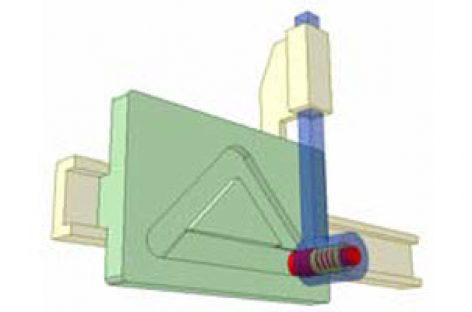 [Mô phỏng cơ cấu cơ khí] Cơ cấu cam tịnh tiến TTr2b