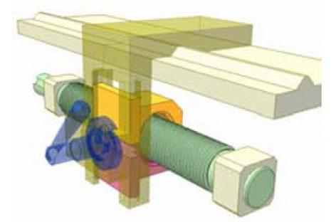 [Mô phỏng cơ cấu cơ khí] Cơ cấu đai ốc bổ đôi ở máy tiện