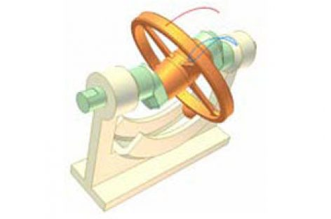 [Mô phỏng cơ cấu cơ khí] Cơ cấu đĩa đảo 1a