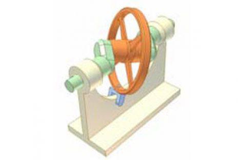[Mô phỏng cơ cấu cơ khí] Cơ cấu đĩa đảo 1c