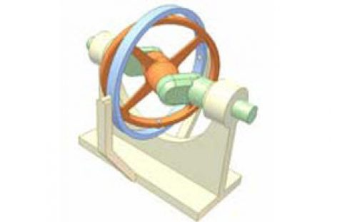 [Mô phỏng cơ cấu cơ khí] Cơ cấu đĩa đảo 1d