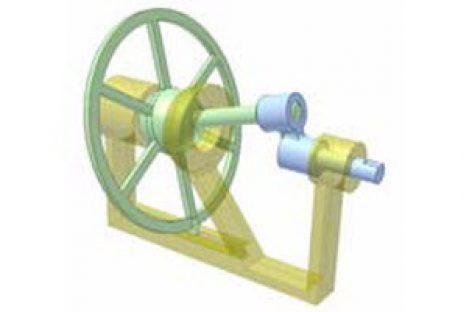 [Mô phỏng cơ cấu cơ khí] Cơ cấu đĩa đảo 2