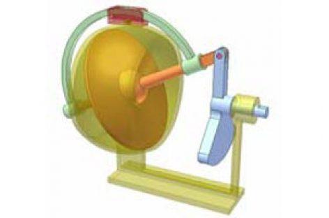 [Mô phỏng cơ cấu cơ khí] Cơ cấu đĩa đảo 3