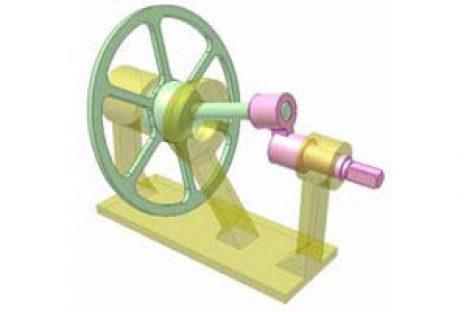 [Mô phỏng cơ cấu cơ khí] Cơ cấu đĩa đảo 4
