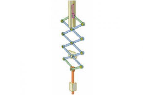 [Mô phỏng cơ cấu cơ khí] Cơ cấu kìm xếp 1