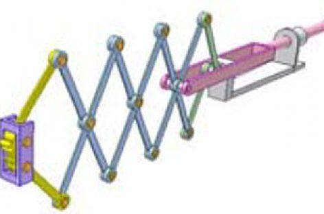 [Mô phỏng cơ cấu cơ khí] Cơ cấu kìm xếp 3
