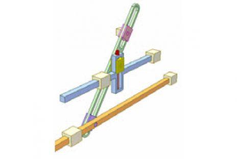 [Mô phỏng cơ cấu cơ khí] Cơ cấu tăng độ dài hành trình 1
