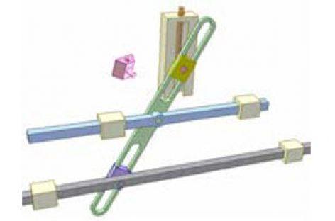 [Mô phỏng cơ cấu cơ khí] Cơ cấu tăng độ dài hành trình 2
