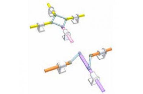 [Mô phỏng cơ cấu cơ khí] Cơ cấu thanh cho chuyển động thẳng 1