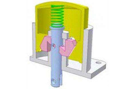 [Mô phỏng cơ cấu cơ khí] Linear motion reverser