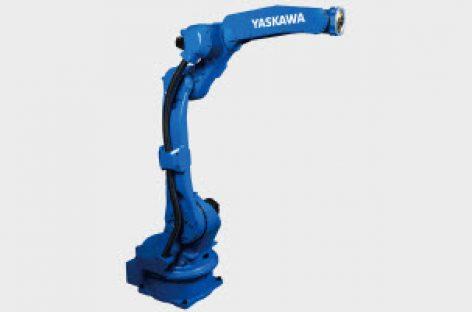 [Tiêu điểm tại Hannover Messe 2018] Robot GP25 của Yaskawa, có thể gắp và phân loại vật nặng lên đến 25 kg