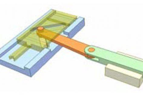 [Mô phỏng cơ cấu cơ khí] Stroke-multiplying mechanism
