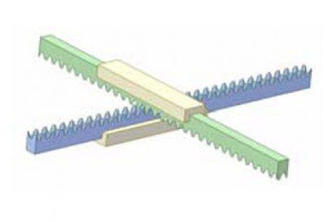 [Mô phỏng cơ cấu cơ khí] Truyền động thanh răng – thanh răng 1