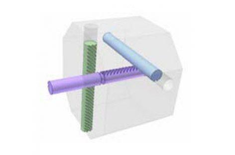 [Mô phỏng cơ cấu cơ khí] Truyền động thanh răng – thanh răng 5