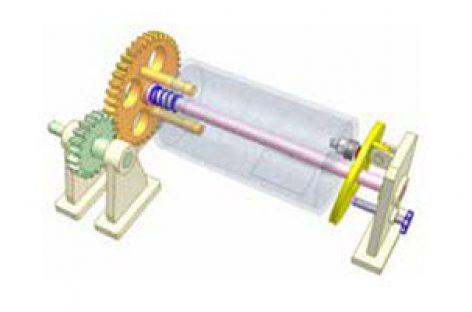 [Mô phỏng cơ cấu cơ khí] Biến chuyển động quay thành chuyển động quay và chuyểnđộng thẳng đi lại 3.1