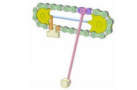 [Mô phỏng cơ cấu cơ khí] Bộ truyền xích 7A