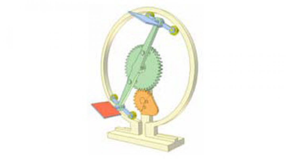 [Mô phỏng cơ cấu cơ khí] Cam và cơ cấu bánh răng 2