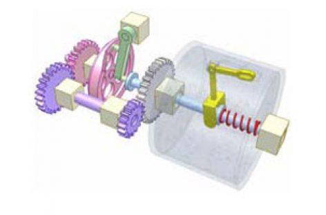 [Mô phỏng cơ cấu cơ khí] Cơ cấu bắt kim dệt