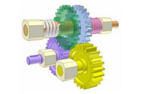 [Mô phỏng cơ cấu cơ khí] Cơ cấu biến chuyển động hai chiều thành một chiều 6a