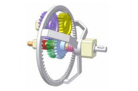 [Mô phỏng cơ cấu cơ khí] Cơ cấu biến chuyển động hai chiều thành một chiều 6b