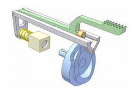 [Mô phỏng cơ cấu cơ khí] Cơ cấu cam kép 3