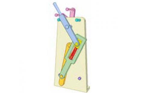 [Mô phỏng cơ cấu cơ khí] Cơ cấu chập có lò xo 9