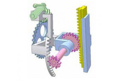 [Mô phỏng cơ cấu cơ khí] Cơ cấu quay và duỗi