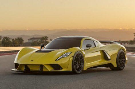 Hennessey ra mắt Venom F5, siêu xe thương mại nhanh nhất thế giới, 484 km/h, giá 1,6 triệu USD