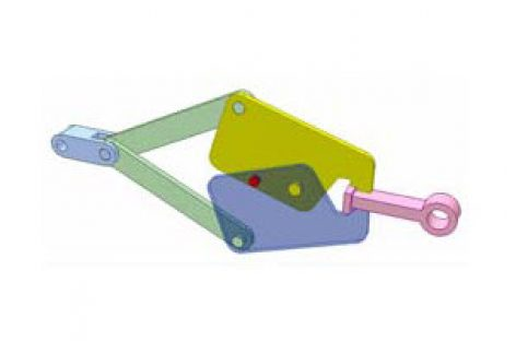 [Mô phỏng cơ cấu cơ khí] Cơ cấu an toàn 1