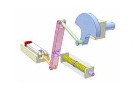 [Mô phỏng cơ cấu cơ khí] Cơ cấu an toàn 15 (cân lò xo)