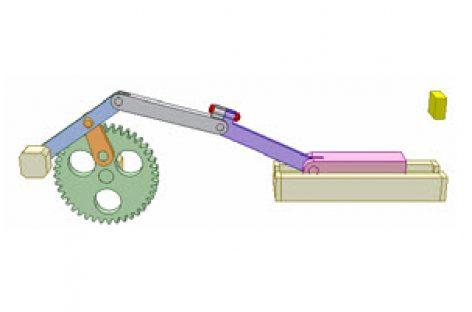 [Mô phỏng cơ cấu cơ khí] Cơ cấu an toàn 2