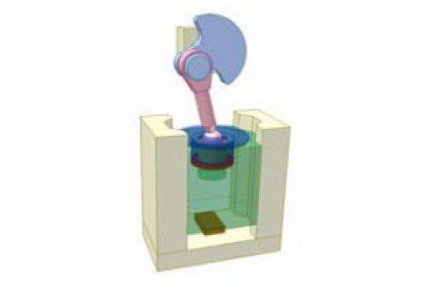 [Mô phỏng cơ cấu cơ khí] Cơ cấu an toàn 2B