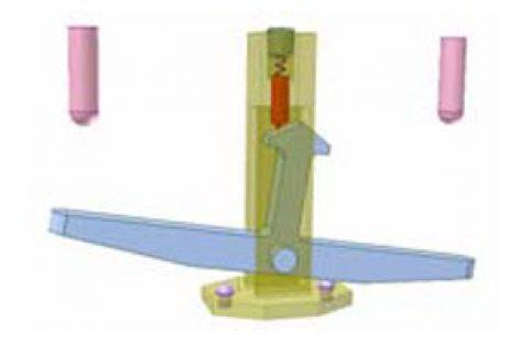 [Mô phỏng cơ cấu cơ khí] Cơ cấu chập có lò xo 7