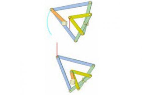 [Mô phỏng cơ cấu cơ khí] Cơ cấu hình diều 1