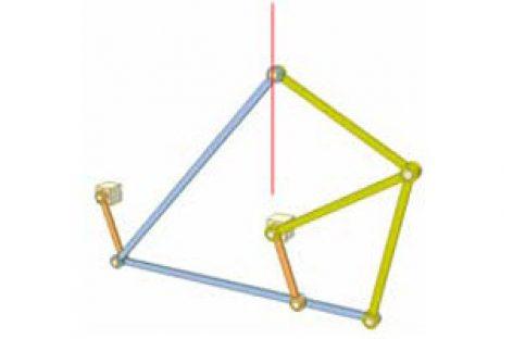 [Mô phỏng cơ cấu cơ khí] Cơ cấu hình diều 2a