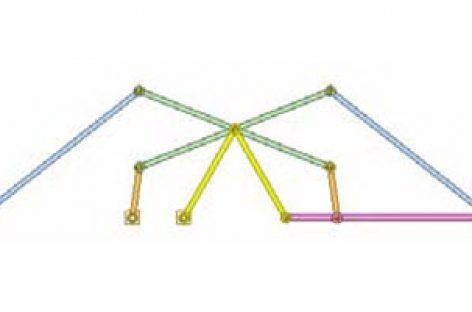 [Mô phỏng cơ cấu cơ khí] Cơ cấu hình diều 3